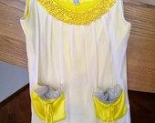 Geltona suknele Chanel