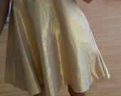 Auksinė prabangi suknutė
