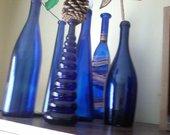 melynu buteliu kolekcija