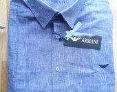 Mėlyni, nauji, marškiniai / Emporio Armani
