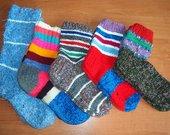Žieminės megztos kojinės