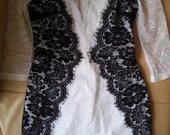 Puošni nėriniuota Asos suknelė