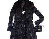 Itališkas striukė - paltas juodos sp.