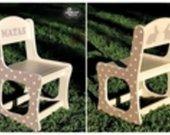 Vardinė kėdutė
