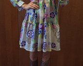 Marga silkine suknele