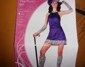 Teminis raganaitės kostiumas