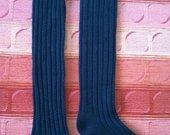 Ilgos juodos kojinės
