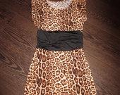 Leopardine suknele
