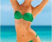 Žalios spalvos Victoria's Secret maudymukas