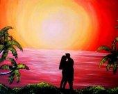 """Paveikslas """"Meilė ir Saulėlydis"""""""
