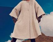 Isskirtinio dizaino VIENETINIS paltas