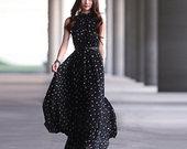 Universali Taškuota suknelė