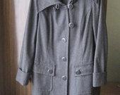Pilkas paltas L dydžio