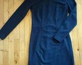 Tamsiai mėlyna bershka suknutė