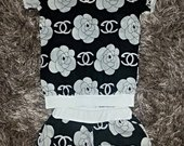 Chanel kostiumėlis mergaitei