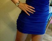 Nauja melyna suknele