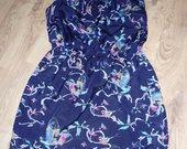 Vasarinė suknelė su kišenėmis