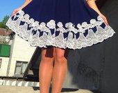 Išskirtinis sijonas su nėriniais
