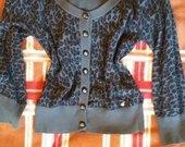 Leopardo rašto megztinukas