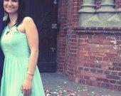Parduodu metines spalvos suknele