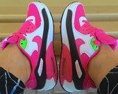 Rožiniai Nike air max