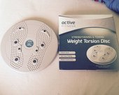 Weight torsion disc