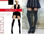 """Ilgos kojinės """"Marilyn Zazu Cotton Grey"""""""