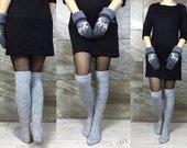 """Ilgos kojinės """"Grey"""""""
