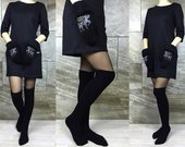 """Ilgos kojinės """"Black"""""""