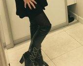 Chanel ilgaauliai batai 36,5 dydis