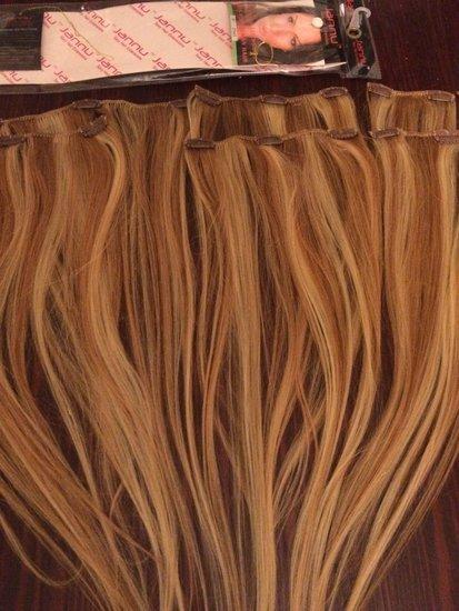 Natūralūs nauji plaukų tresai