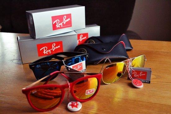 Nauji Rayban akiniai nuo saulės 63beb0c28d