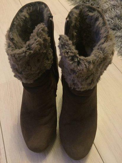 Rudi žieminiai batai