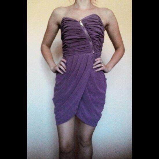 Puošni violetinė Bik Bok suknelė
