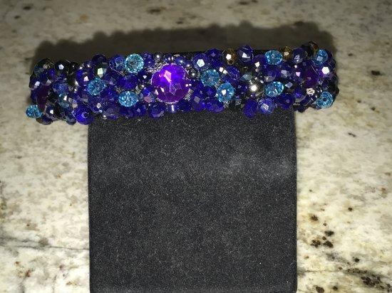 Violetinis plauku lankelis