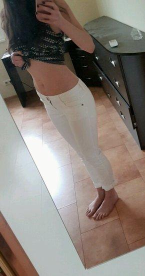 Baltos ZARA kelnės 36 dydis