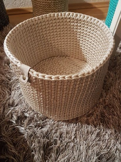 Nertas krepšys/ daiktadėžė