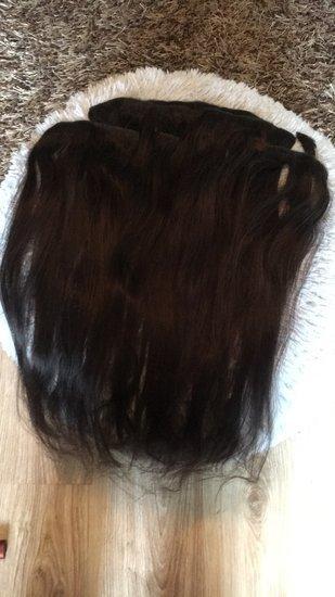 Naturaliu plauku tresai