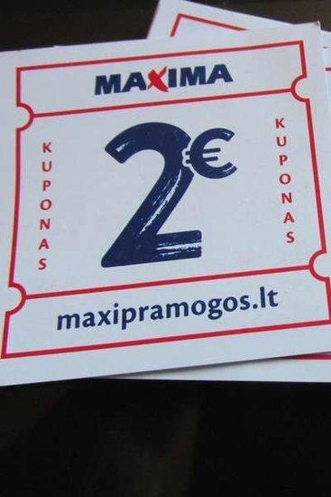 Maxi Pramogos dovanų kuponai