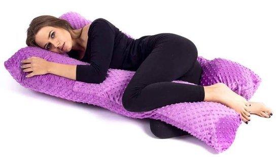 Viso kūno U formos nėštumo pagalvė