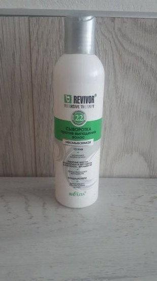 Revivor serumas nuo plauku slinkimo