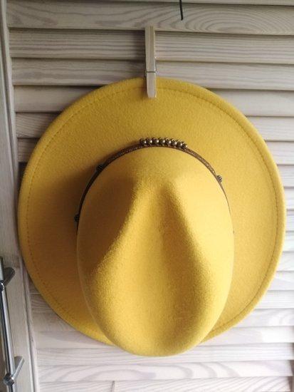 Nauja geltona skrybėlė