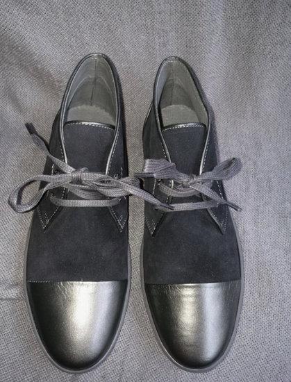 Juodi odiniai vyriški batai