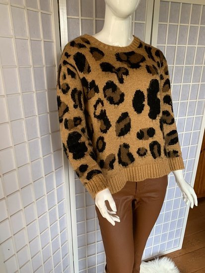 Leopardinis megztukas