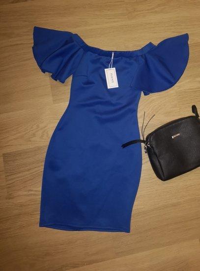 Nauja suknele atvirais pečiais