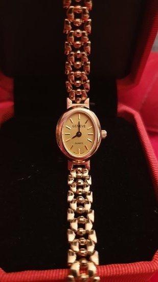Naujas auksinis laikrodis GENEVE