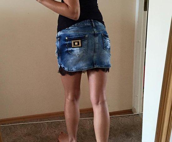 AMN sijonas, 2 spalvos melyna ir pilka