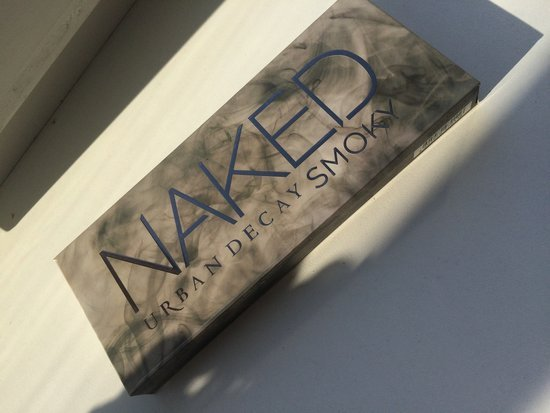 Naked Urban Decay Smoky paletė