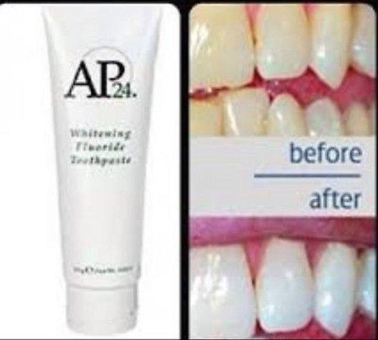Balinanti dantų pasta AP24 su fluoru