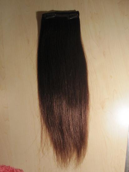 Naturalus prisegami plaukai 45cm, GEROS BUKLES!